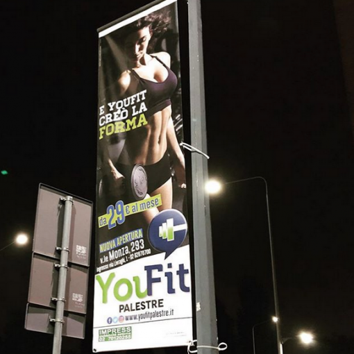 Anyway firma la nuova campagna YouFit