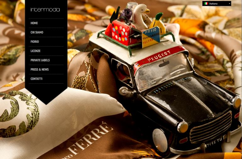 Intermoda-homepage