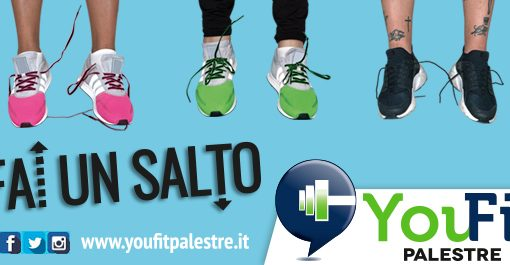 Fai un salto! E' il nuovo motto You Fit by Anyway.