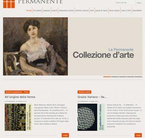 Anyway firma la web-image della Permanente di Milano